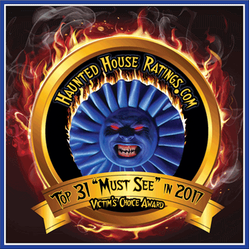 Cutting Edge Haunted House Voted One of America's Best Haunted Houses 2009-2017! by Haunted House Ratings