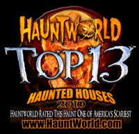 Top 13 Haunted House on HauntWorld.com