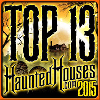 Cutting Edge Haunted House voted Top 13 Haunted Houses on HauntHouses.com!